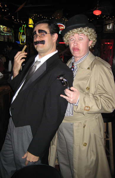 Marx Brothers costumes, Halloween 2008