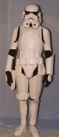 Stormtrooper Costume from the Star Wars movies